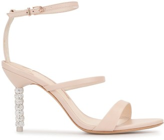 Sophia Webster Rosalind crystal heel sandals
