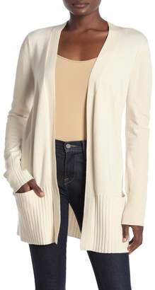 Cyrus Ribbed Sleeve Cozy Pocket Cardigan