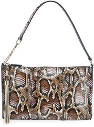 Jimmy Choo Callie Mini Elaphe Snakeskin Shoulder Bag