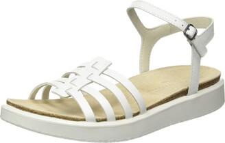 Ecco womens Corksphere Ankle Strap Sandal