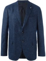 Lardini houndstooth blazer - men - Alpaca/Wool/Nylon/Cupro - 52