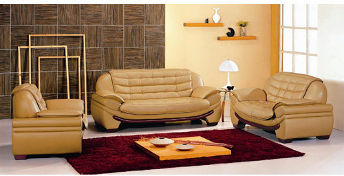 Hokku Designs Westminster Leather Loveseat