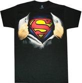 Superman Ripping Open Shirt Men's T-Shirt