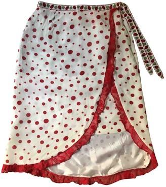 Lm Lulu White Skirt for Women