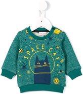 Paul Smith space cat print sweatshirt