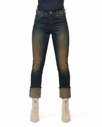 G Star Women's Noxer High Waist Straight Jeans