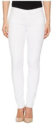 Paige Skyline Ankle Peg in Crisp White (Crisp White) Women's Jeans
