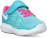 Nike Toddler Girls' Flex Fury 2 Velcro Running Sneakers from Finish Line