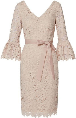 Gina Bacconi Chyna Embroidered Dress