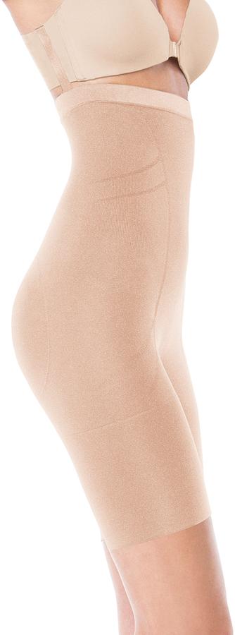 Spanx Slimmer & Shine® Mid-Thigh Bodysuit