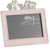 "Michael Aram Girls' Elephant 4"" x 6"" Frame, Pink"