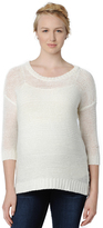 A Pea in the Pod Design History Drop Shoulder Maternity Sweater