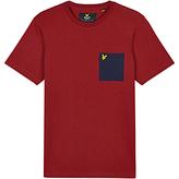 Lyle & Scott Ottoman Patch Pocket Crew Neck T-shirt