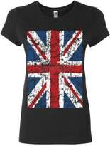 Tee Hunt Union Jack Cotton T-Shirt United Kingdom Distressed British Flag M