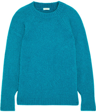 Sandro Brugane Oversized Mohair-blend Sweater