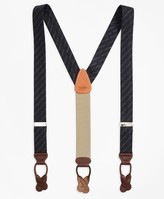 Brooks Brothers Harris Tweed Stripe Suspenders