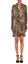 Nili Lotan Women's Jane Leopard-Print Silk Shirtdress