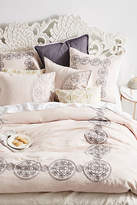 Anthropologie Embroidered Kauri Duvet Cover