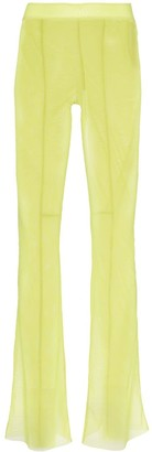 Supriya Lele Flared Mesh Trousers