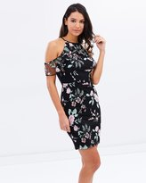 Lipsy Floral Halter Neck Dress