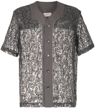 Necessity Sense Stanley lace baseball shirt