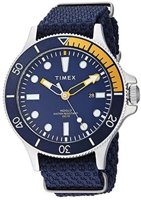 Timex 43 mm Allied Coastline Fabric Strap