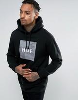 Huf Hoodie With Camo Box Logo