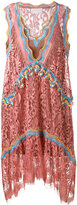 Peter Pilotto embroidered lace dress - women - Silk/Polyamide/Polyester/Viscose - 8