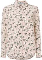 Prada printed button down shirt