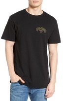 Billabong Men's Arch Distort Graphic T-Shirt