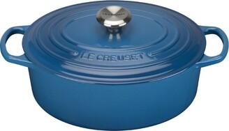 Le Creuset Marseille Blue Oval Casserole Dish (25cm)