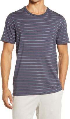 Daniel Buchler Stripe Crewneck T-Shirt
