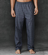 Polo Ralph Lauren Windowpane Woven Pajama Pants