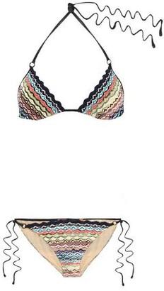 Missoni Mare Mare Crochet-knit Triangle Bikini