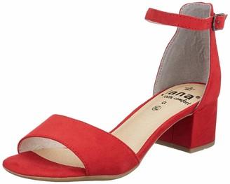 Jana 100% comfort Women's 8-8-28314-24 Ankle Strap Sandals