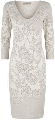 D-Exterior D.Exterior Floral Knitted Dress