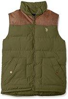 U.S. Polo Assn. Men's Western Yoke Puffer Vest