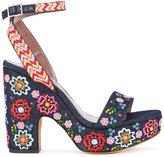 Tabitha Simmons Calla Festival sandals - women - Cotton - 35