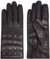 Isotoner Studded Leather Glove