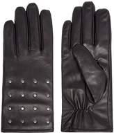 Isotoner Studded Leather Glove