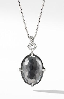 David Yurman Chatelaine® Big Color Pendant Necklace