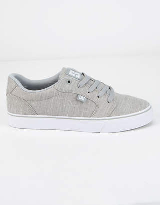 DC Anvil TX SE Gray Light Mens Shoes