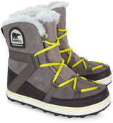 Sorel Grey Glacy Explorer Shortie Boots