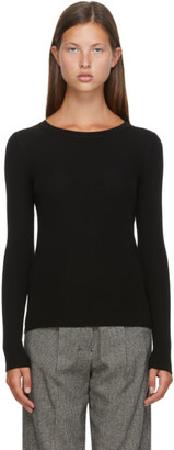 S Max Mara Black Wool Mattia Sweater