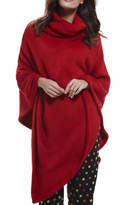 Influence Polar Red Fleece Poncho