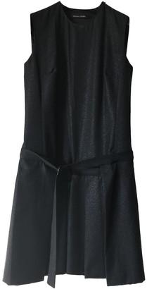 Martine Sitbon Black Wool Dress for Women Vintage