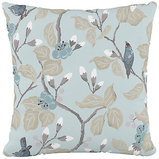 One Kings Lane Grace 20x20 Pillow - Blue Chinoiserie