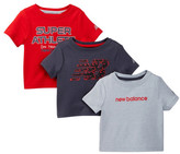 New Balance Graphic Tee - Pack of 3 (Baby Boys)
