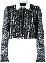 Giambattista Valli tweed jacket - women - Cotton/Polyamide/Viscose - 40