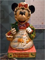 """Disney Minnie with Wreath """"Christmas is Sharing"""""""